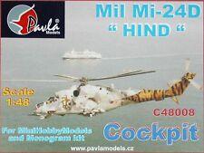Pavla c48008 calcomanía Resina Cabina Mil Mi-24d Hind Monogram