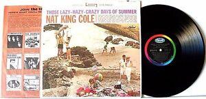 NAT-KING-COLE-034-THOSE-LAZY-HAZY-034-gt-12-034-CAPITOL-VINYL-RECORD-ALBUM-gt-EX-COND-gt-1963