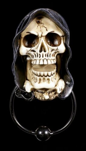 Grim Reaper Gothic Fantasy Türdeko Sensenmann Türklopfer