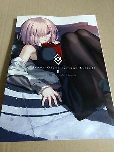 Details about fate/grand order FGO servant storage 2 guide book z0