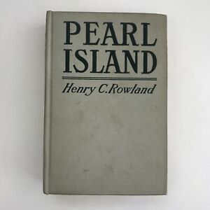 Vintage-Book-Pearl-Island-Henry-C-Rowland-1919-Antique-Illustrated