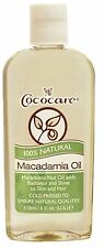 Cococare 100% Natural Macadamia Oil, 4 oz