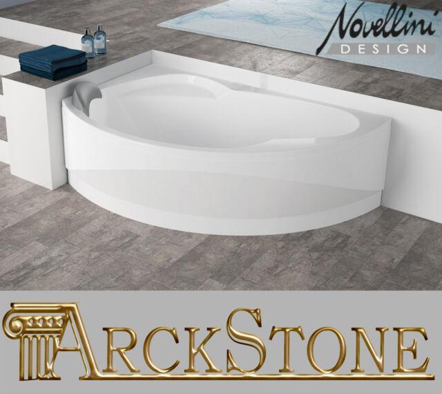 Arckstone Bañera muebles de Baño angular Estándar SX Novellini Vogue ...