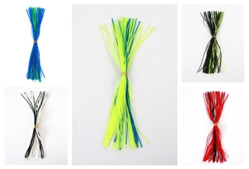 10 Pcs NEW Silicone Replacement Spinnerbait Buzzbait Skirts Fishing Lures