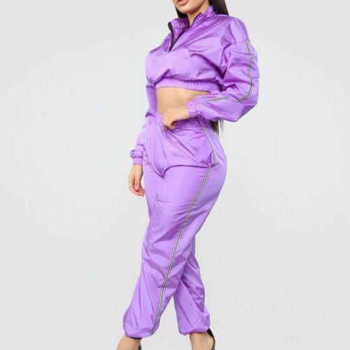 Women Long Sleeve Tracksuits Jogging Casual Solid Fashion Sweatshirt Sweatpants