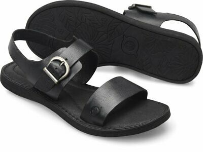 Women/'s Born Comfy Elegant Sandal Elly Black Leather D56903