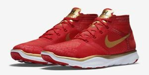 73d9214ad0cf4 Nike Free Train Instinct Kevin Hart Hustle Red Gold White 848416-876 ...