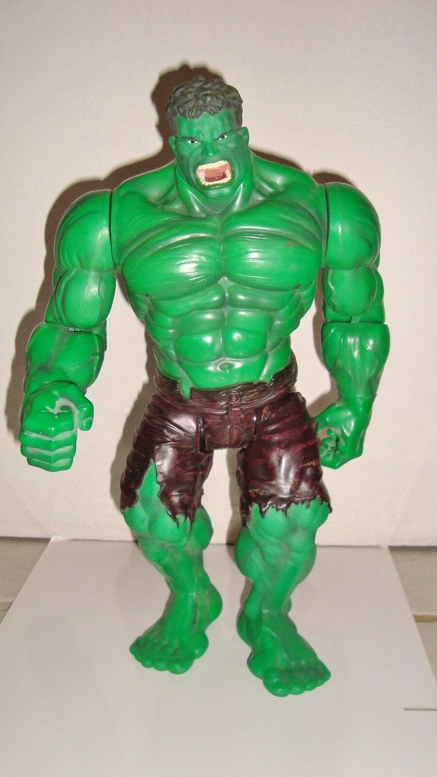Sehr Große Figürchen Figürchen Figürchen The Hulk Film 2002 Avengers Artikuliert Klangreich (33x20cm 5824ad