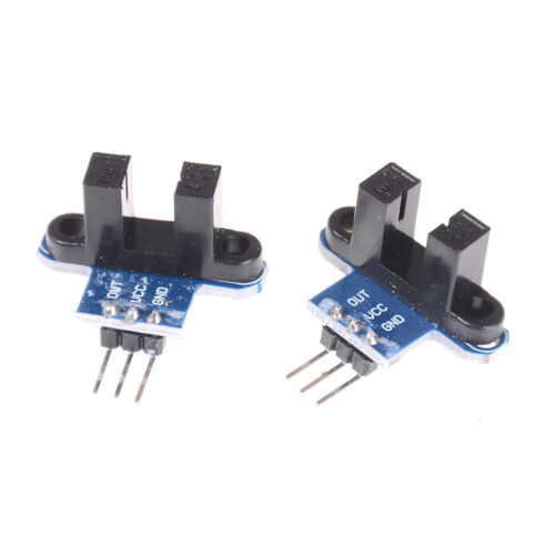 2x IR Infrared Slotted Optical Speed Test Sensor Detection Optocoupler Module;UK