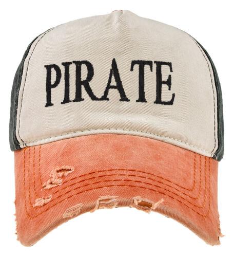 Coton Ancient Mariner capitaine Cabin Boy Crew Baseball Cap Yachting Orange Noir