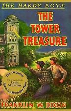 The Tower Treasure (Hardy Boys, Book 1)-ExLibrary