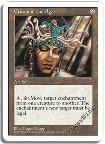 Artifact Fifth 5th Edition Mtg Magic Rare 4x x4 4 PLAYED Crown of the Ages
