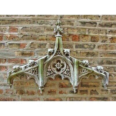 "Chartres Tracery Header Handcrafted Orlandi Fiberglass Sculpture 38/""W 3/""D 24/""H"