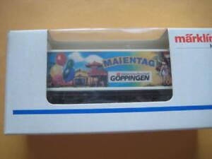 Marklin H0 4481-95716 Goppingen Hohenstaufenstadt Maientag Box Wagon - LNIB