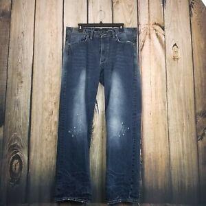 Sean-Jean-Hamilton-Distressed-Blue-Jeans-Size-34