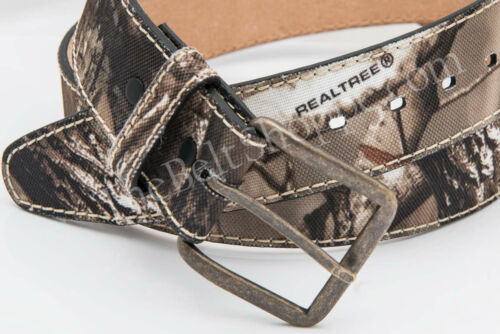 REALTREE AP HD Camouflage Camo Canvas Belt Size 32-46 NEW