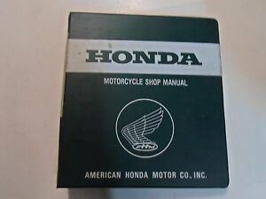 1985-HONDA-CB-125S-CB125S-Service-Shop-Repair-Manual-BINDER-MINOR-STAINS-WEAR-85