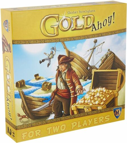 Two Players Board Game Mayfair Games BRAND NEW ABUGames Details about  /Gold Ahoy!