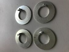 SILVER CROSS VINTAGE OLD Badge Fixing x 4 Star Washer Coach Built Pram Spares