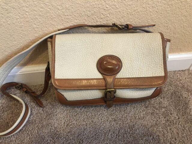 Vintage Dooney & Bourke All-Weather Leather Purse Shoulder Bag with Strap