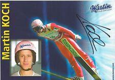Autogramm AK Martin Koch Skisprung Skispringer Olympiasieger Österreich 2