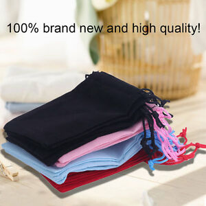 20pcs Gift Bag Jewelry Display 5x7cm Velvet Bag/organza Pouch Mn Pour AméLiorer La Circulation Sanguine