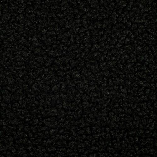 Preis=0,5m Teddystoff Locke schwarz Modestoff Kinderstoff Mantel Innenfutter