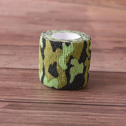 5cmx4.5m taktisches wasserdichtes Klebeband Camouflage Warp Jagdschieße wa