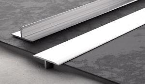 aluminium threshold trim t bar door strip profile various colours and sizes ebay. Black Bedroom Furniture Sets. Home Design Ideas