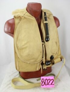 WW2 RARE GERMAN LUFTWAFFE SURVIVAL LIFE VEST 10-30B-2   eBay