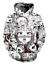 New Fashion Women//Men Anime Ahegao Funny 3D Print Casual Hoodies Sweatshirt 68