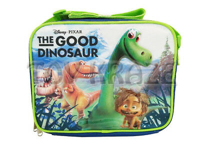 BLUE BLACK INSULATED SCHOOL BAG TOTE NWT THE GOOD DINOSAUR LUNCH BOX