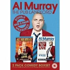 Al Murray - Pub Landlord Live 1 And 2 (DVD, 2012, 2-Disc Set)