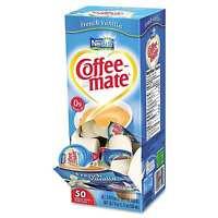 Liquid Coffeemate Single Serve Creamers French Vanilla Nestle 3 x 50 = 150 Tubs