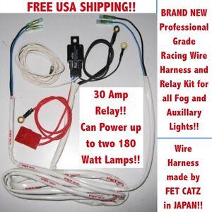 wiring harness catz hella piaa bosch kc fog lights image is loading wiring harness 4 catz hella piaa bosch kc
