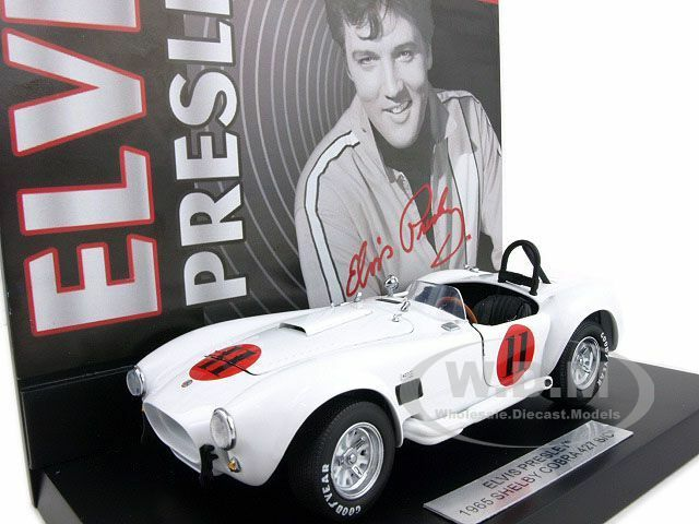 tienda en linea Elvis Elvis Elvis Presley De 1965 Shelby Cobra 427 S c 1 24 centrifugación por Franklin Mint b11g448  el más barato
