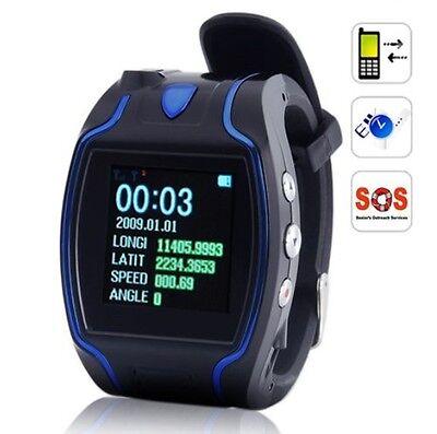 Quad band Personal Kids Watch GPS Tracker Wrist Two-way Talking SOS GSM GPRS