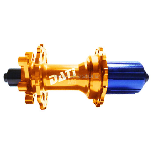 6Pawl,48th REAR M5  28 HOLE DATI Disc Hub MTB BIKE gold  ENDURO  Circus monkey  support wholesale retail