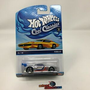 Ford GT Silver NA26 Hot Wheels Cool Classics