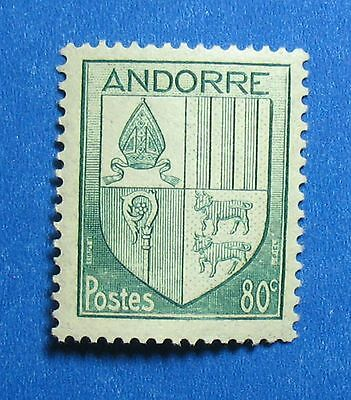 Stamps 1944 Andorra French 80c Scott# 84 Michel # 101 Unused Nh Cs27537 To Have A Long Historical Standing