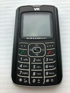 VK Mobile 2000 Black Cell Phone ASIS - Fast Shipping!