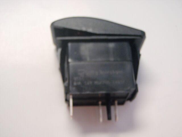 SEACHOICE 12961 Illuminated Contura Rocker Switch On//Off Black