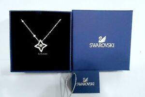 16813da852615d Image is loading Swarovski-Sparkling-Dance-Star-Pendant-Small-White-Crystal-
