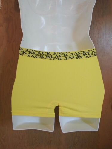 Blackjack Mens Boxer Briefs Underwear One Size Yellow Seamless Dragon Authentic