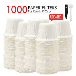 i-Cafilas-100-1000-Disposable-K-Cup-Paper-Filters-For-Keurig-K-Cup-Coffee-Pods