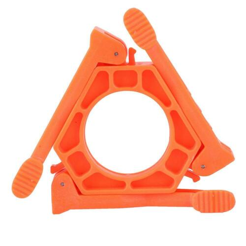ABS Folding Canister Stand Tripod Gas Tank Bracket Shelf Outdoor Stove Holder