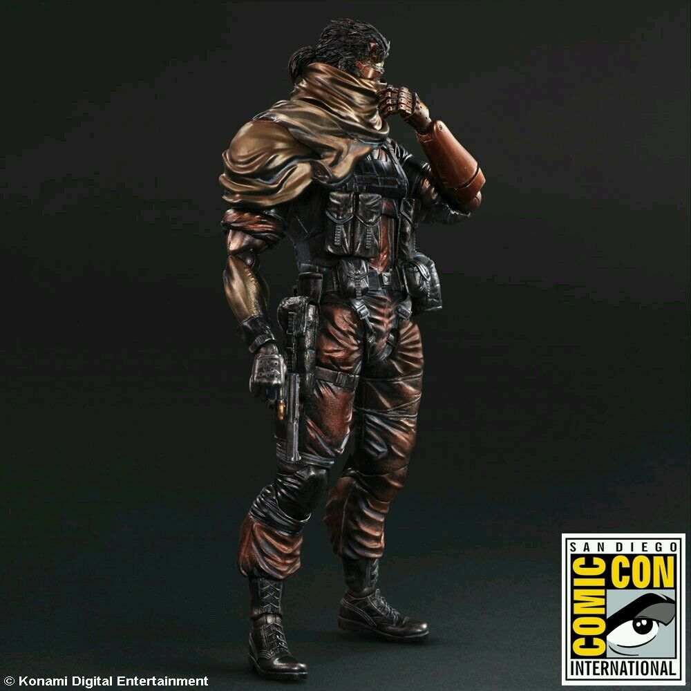Metal Gear Solid V The Phantom Pain 2018 San Diego comic-con exclusivo castigados Serpiente Kai nuevo