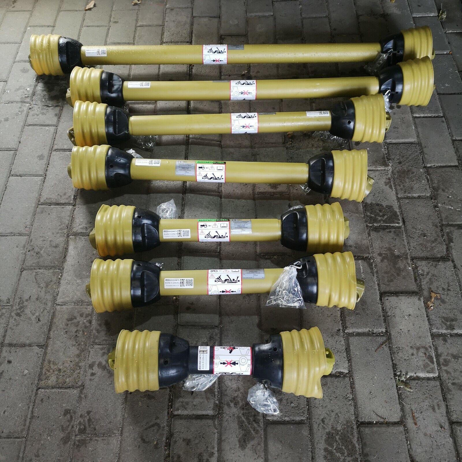 Kardanwelle Schlepper 1010 mm lang Gelenkwelle Traktor 6 Z/ähne 1 3//8 Drehmoment mit Kugelverschluss /& Schiebestift