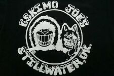 Stillwater' Jumpin' Juke Joint Eskimo Joe's Black Shirt S small c/p 34/36