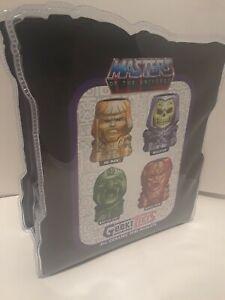MOTU Geeki Tiki 4PC 2oz Ceramic Mini Muglets Set Sealed He-man Beast Man Battle